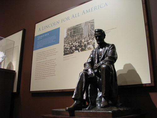 Charles Keck maquette of Abraham Lincoln sculpture.