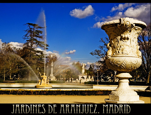 Jardines de Aranjuez. Madrid
