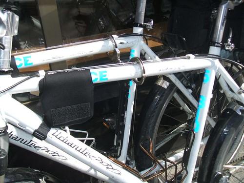 Cop Bikes Locked