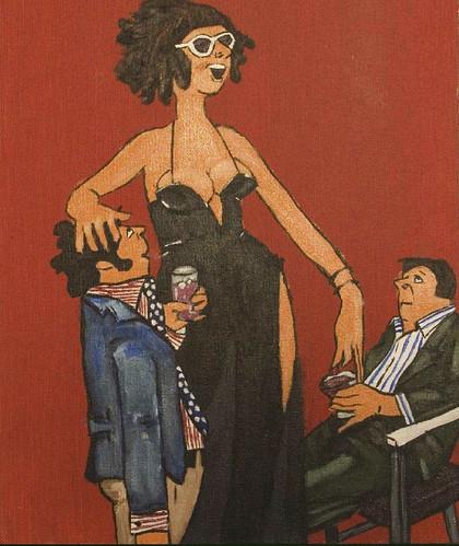 """The Hostess"" by Christian Ziegler"