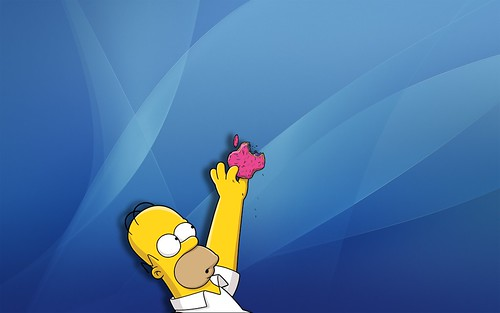 Wallpaper For Mac. Homer Simpson Mac Wallpaper