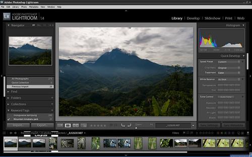 Lightroom screen shot