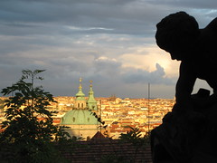 Prague from Hradčanská (2)