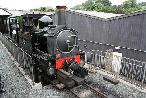 The Earl undergoing some TLC