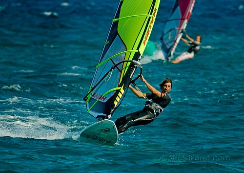 windsurf to Bacelona