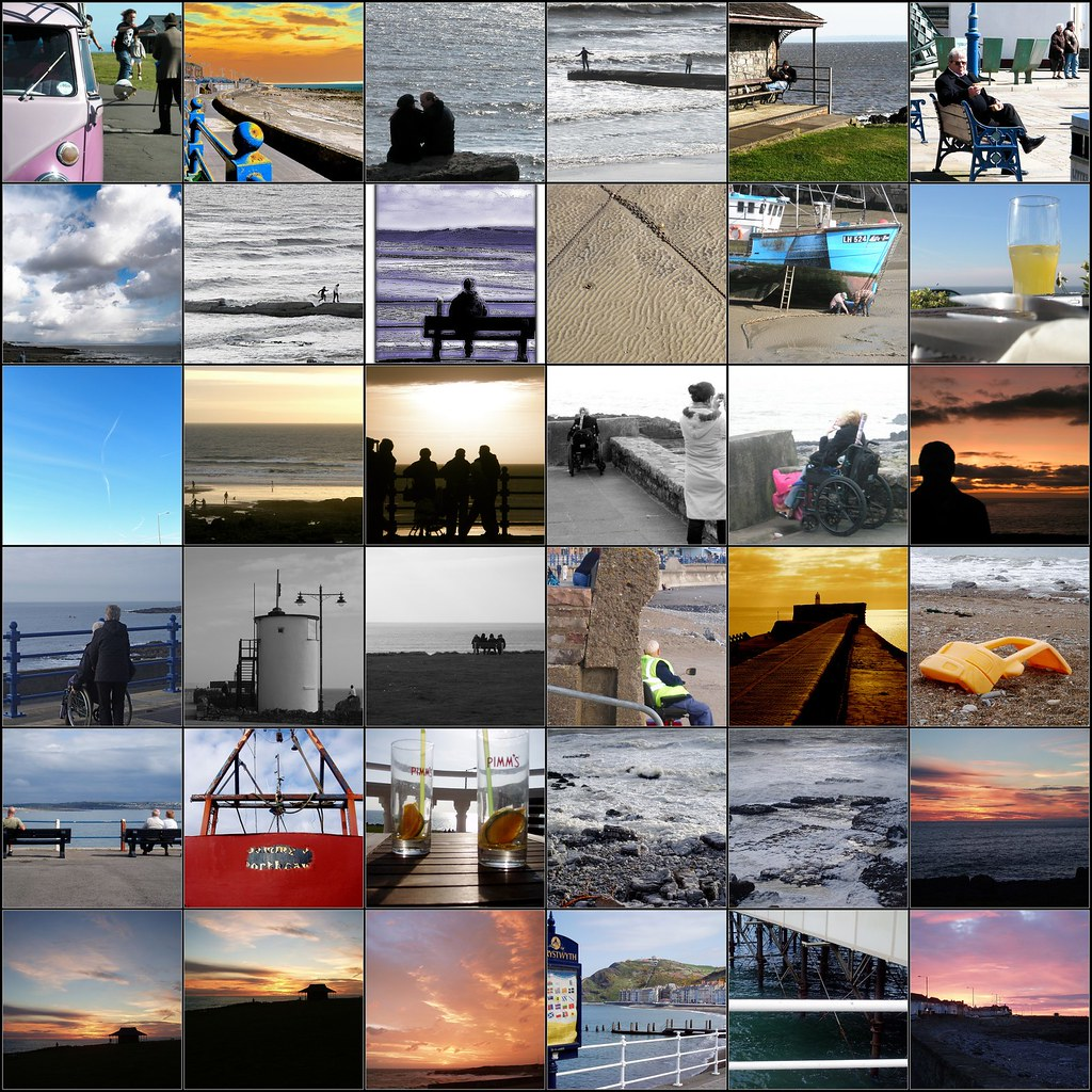 Mosaic of Sea Pictures