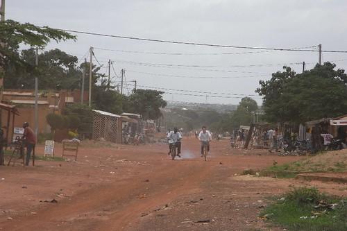 Fahrt durch Somgande