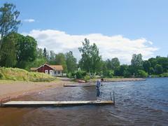 Hagans (JanneM) Tags: blue sky cloud color nature midsummer pentax jan sweden human borlnge pererik moren k10d janmoren torsng hagans