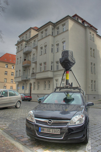 Streetview Cars in Leipzig