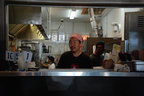 Chef Bill Kim at Urban Belly