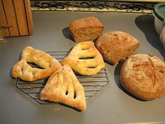 An array of bread