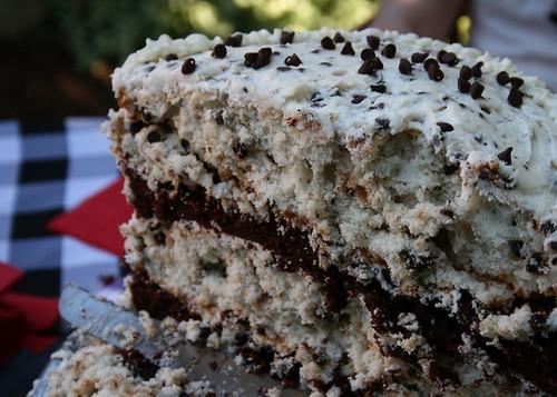 Dalmatian Cake Core Sample