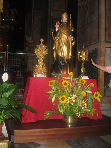 Statua di Sant'Agostino e reliquie... dans immagini buon...notte, giorno