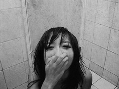 I need an O2 mask (Karren) Tags: bw selfportrait girl rain blackwhite dc hate cry  raindrop