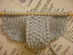 For Toes (Fallon Roxann) Tags: knitting wip babybooties