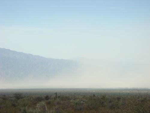 Dust storm sneaking in on me!