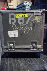 Beach Boys roadcase (roadieshow) Tags: show lighting girls music hot classic rock sex keys fun marquee drums lights fan dance concert singing audience theatre bass guitar live stage band pass jazz blues gear drugs microphone backstage setlist rand groupies laminate foh roadie truss roadcase roadieshow stageplot