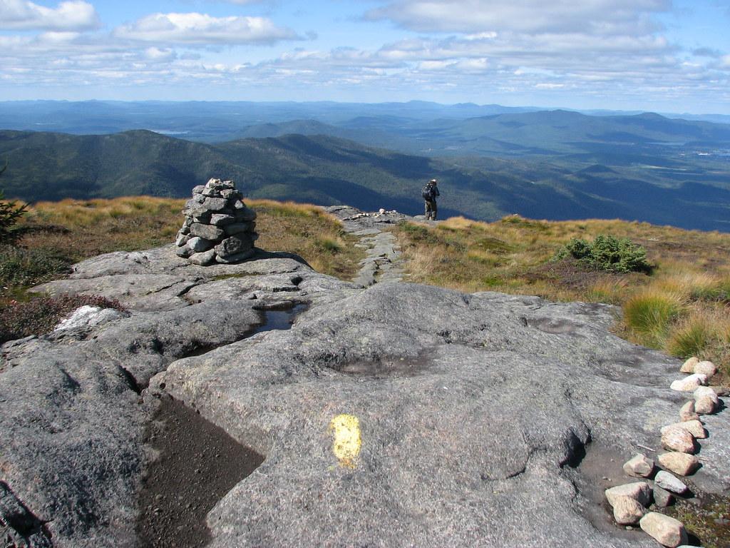 Trail down Algonquin