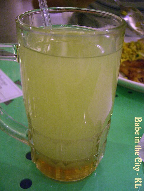 B - halia madu RM4.20