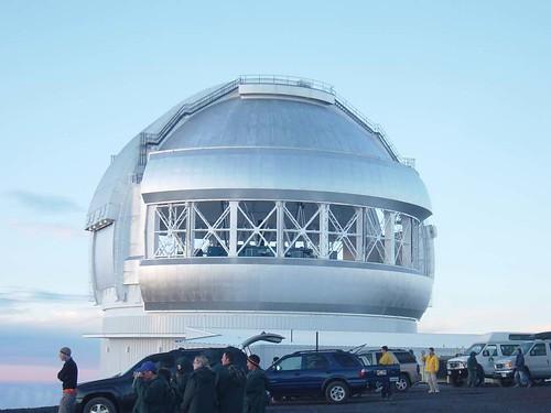 ジェミニ望遠鏡 (GEMINI) マウナケア山