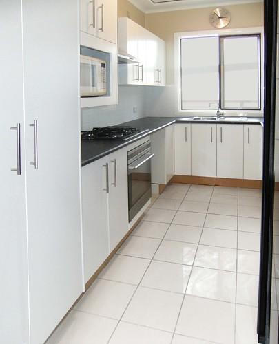 white tile floor kitchen. New Kitchen And Tiled Floor  Originally Uploaded By Anthonyhalley79 Victorian Tile Designs 2011