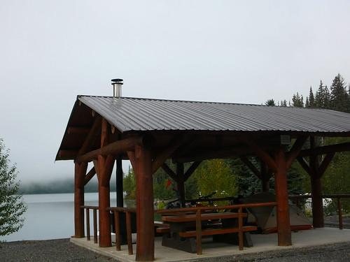 Nuestro camping frente al lago