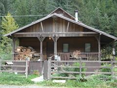 Cabanas en Hyder Alaska a 5 km de Stewart Canada