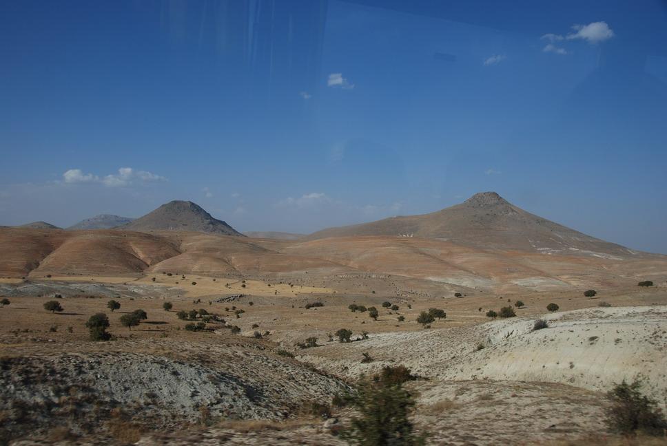 往Konya的路上