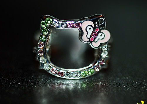 Anillo sanrio Hello kitty