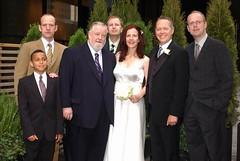 Pictured: Kevin McAnoy Brian McAnoy Sean McAnoy Colleen Peddie Ian McAnoy Richard Peddie