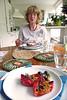 My mother's cooking (lambertwm) Tags: food cooking kitchen dinner pepper italian wine mother diner keuken moeder paprika eten viewcount wijn italiaans koken voedsel lwmfav