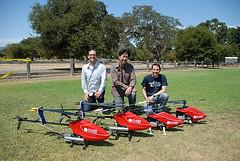 Helicópteros que aprenden solos