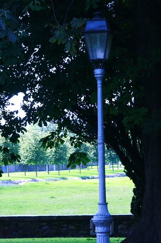 Lamp Post in Context at IMMA