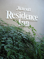residence inn marriott sign