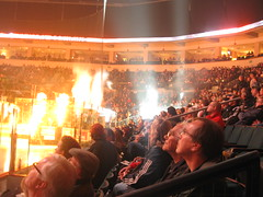mts centre (Maicdlphin) Tags: canon lights crowd powershot arena pyro mts mtscentre a590