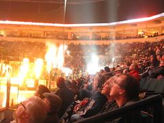 mts centre (Maʝicdölphin) Tags: canon lights crowd powershot arena pyro mts mtscentre a590