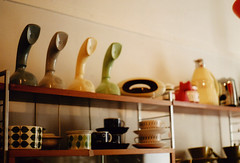 (sandra juto) Tags: film cup shop phone telephone gothenburg bowl shelf arabia saucer haga stiglindberg bers kobra ericofon bepop