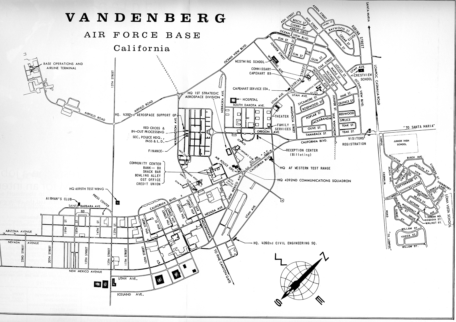 Vandenberg Afb Map Building Numbers Afb Map Building Numbers