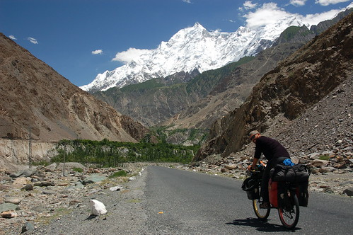 On the Karakorum Highway, Pakistan