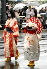 Kamuro (fuyou-hime) Tags: kyoto kimono matsuri kitsuke courtesan jidai oiran tayuu muromachi kamuro