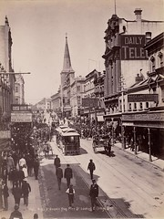 King St. Sydney from Pitt St., looking E, February-March 1895 / H. King Syd.