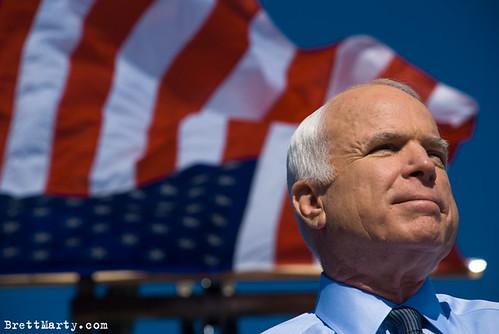 McCain Rally; Miami, Florida - BrettMarty.com
