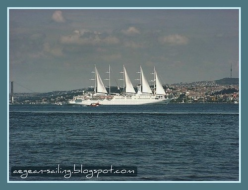 Sail at Bosphorus, Istanbul