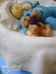 Hoşgeldin Bebek pastası...