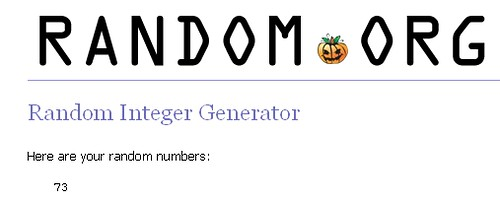 Fall Bloggy Giveaway winner