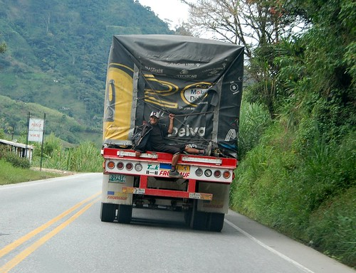 Schwarzfahrer in Kolumbien von Ihnen.