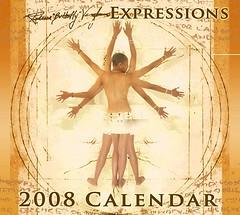 """MC Rebecca """"Butterfly"""" Vaugns 2008 Calendar"""
