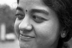 (sapru) Tags: portrait people bw woman cute girl beautiful face closeup comfortable lady youth portraits happy blackwhite cool pretty faces sweet expression gorgeous innocent young expressions adorable content charm calm attractive stunning innocence youthful neat chic hip charming elegant cheerful naive joyful striking closeups simple relaxed pure graceful moods playful carefree poised pleasant happening composed fashionable satisfied childlike contented charismatic effortless appealing arresting unperturbed uncomplicated