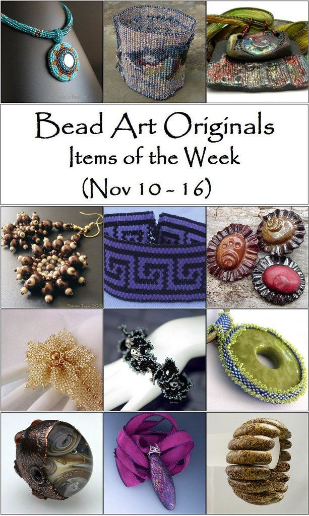 Bead Art Originals Items of the Week (Nov 10-16)