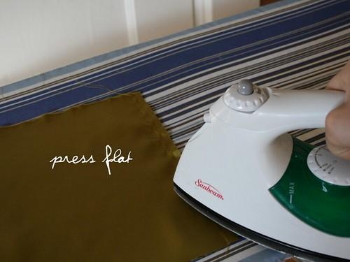 press seam